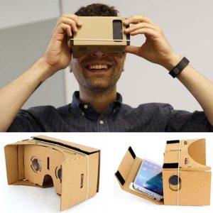 AyeBeau Google Cardboard Cardbord Lnette Video 3 D Gerceklik Smartphone