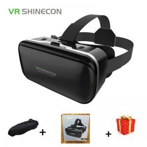 VR SHINECON 6.0 Casque VR Box Virtual Reality Glasses 3 D 3d Goggles For Smartphone